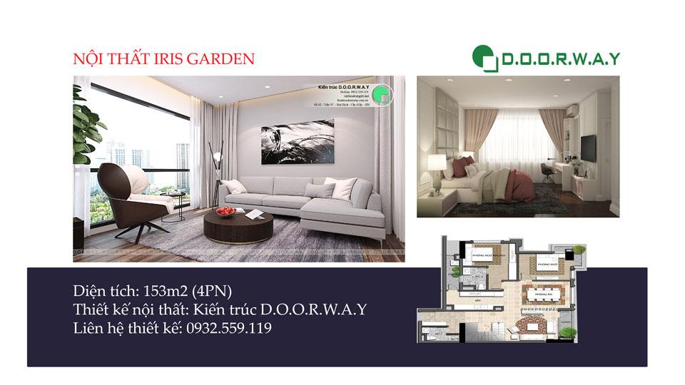 Ảnh tiêu biểu- Ấn tượng với nội thất căn hộ penthouse Iris Garden - 2020