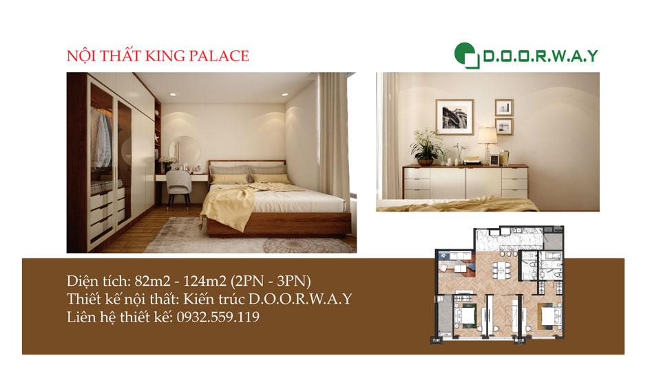 Anhtieubieu- Thiết kế nội thất căn hộ King Palace như thế nào cho đẹp?