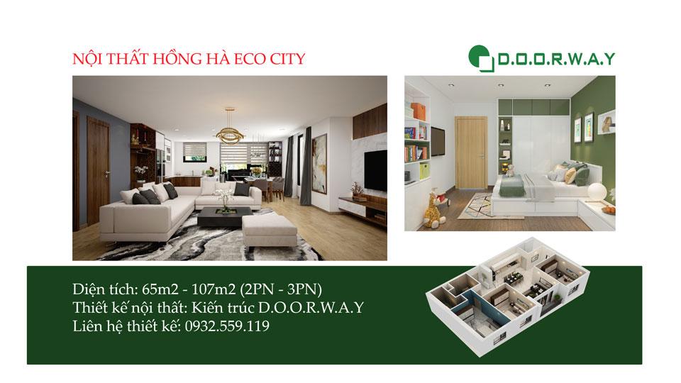 Ảnh tiêu biểu- Lưu ngay mẫu thiết kế nội thất chung cư Gardenia Hồng Hà Eco City
