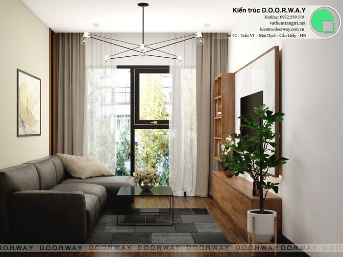 PK1 - Thiết kế nội thất căn 3 phòng ngủ The Legacy như thế nào?