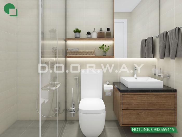WC(1) - Thiết kế nội thất căn 3 phòng ngủ The Legacy như thế nào?
