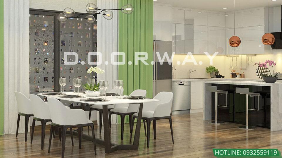 Mẫu thiết kế phòng bếp đẹp 2020