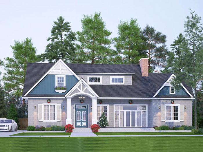1- Những mẫu thiết kế biệt thự vườn 1 tầng đẹp 2020