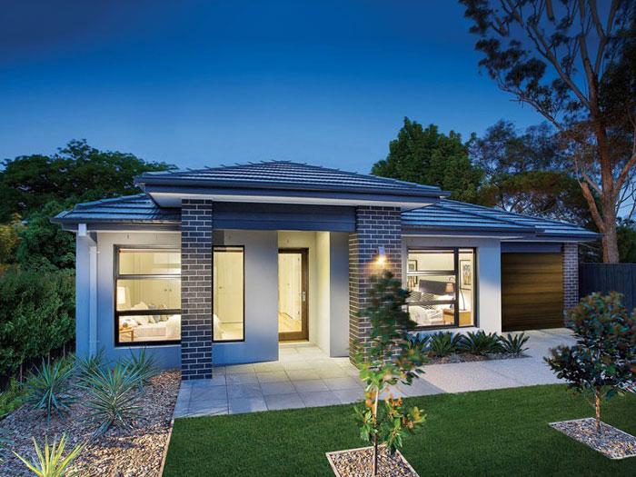 7- Những mẫu thiết kế biệt thự vườn 1 tầng đẹp 2020