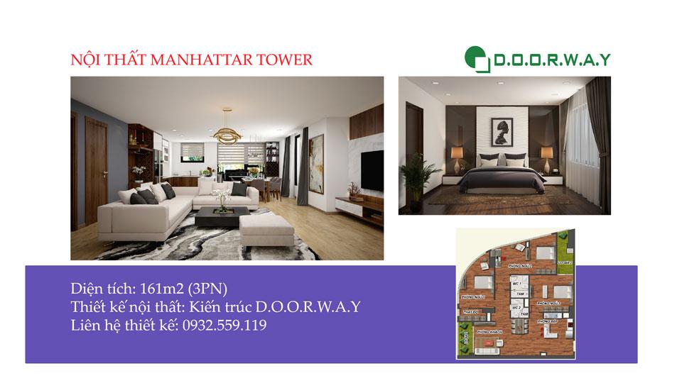 Ảnh tiêu biểu - Cách chọn nội thất căn 161m2 Manhattan Tower
