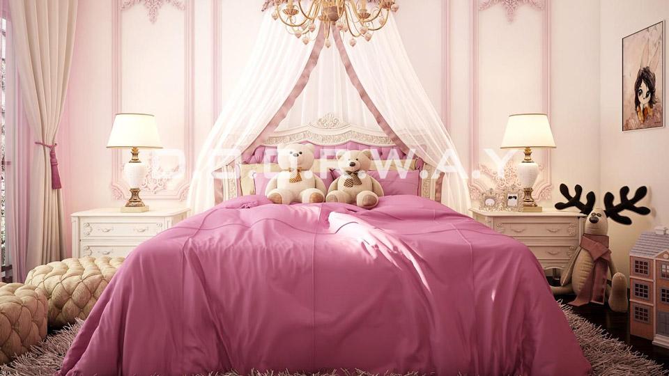 9 mẫu phòng ngủ cho bé gái 15 tuổi đơn giản