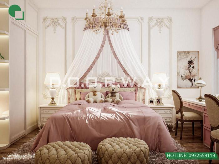 2-9 mẫu phòng ngủ cho bé gái 15 tuổi đơn giản