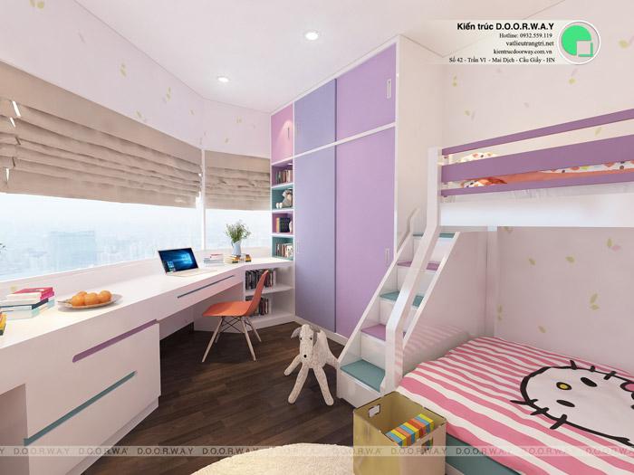 3-9 mẫu phòng ngủ cho bé gái 15 tuổi đơn giản