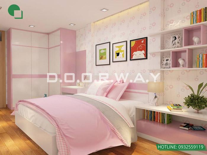 4-9 mẫu phòng ngủ cho bé gái 15 tuổi đơn giản