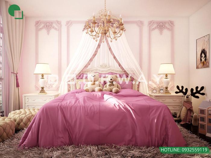 6-9 mẫu phòng ngủ cho bé gái 15 tuổi đơn giản