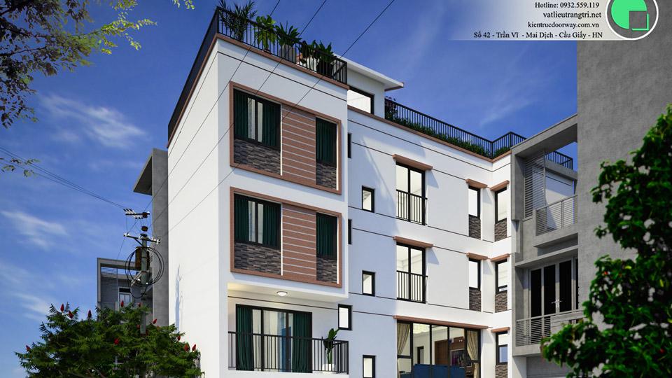 Mẫu mặt tiền nhà phố đẹp xu hướng thiết kế tương lai