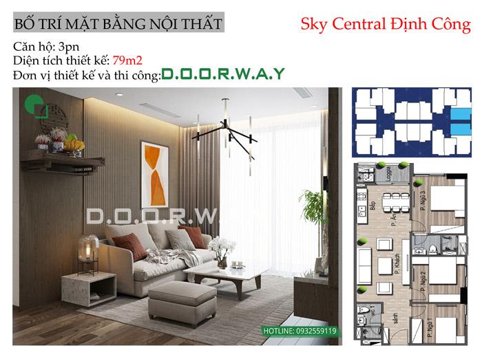 (MB)Thiết kế nội thất căn 79m2 Sly Central
