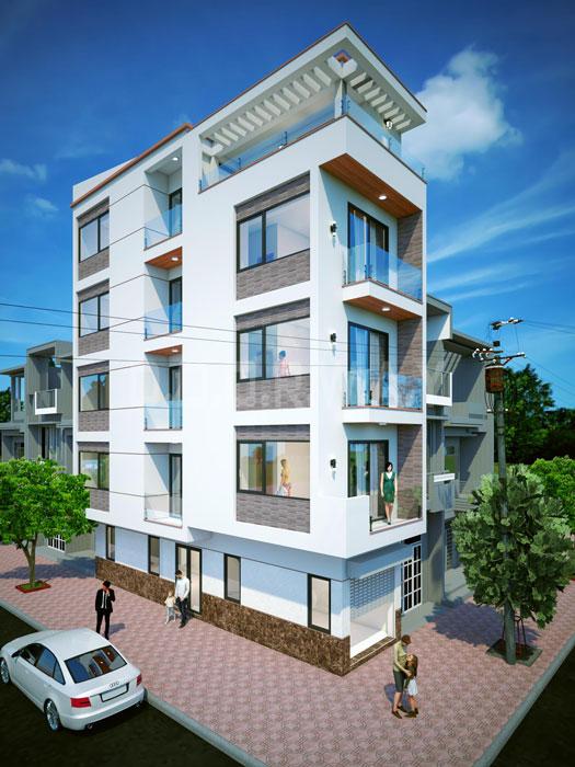 (5)Thiết kế kiến trúc nhà phố hiện đại của Doorway