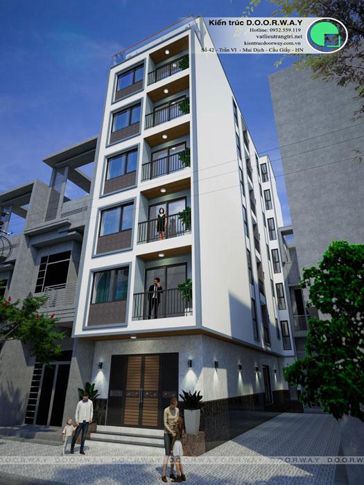 (2)Tổng hợp mẫu thiết kế nhà phố hiện đại đẹp nhất từ Doorway