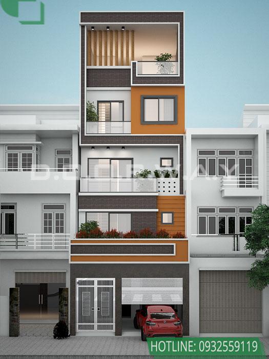(3)Tổng hợp mẫu thiết kế nhà phố hiện đại đẹp nhất từ Doorway