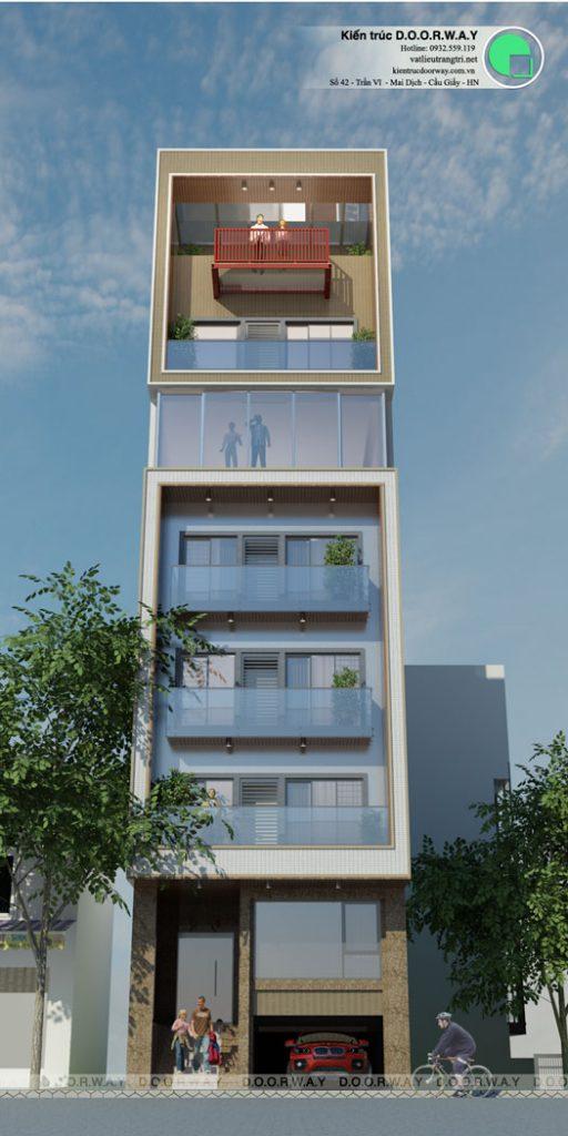 (5)Tổng hợp mẫu thiết kế nhà phố hiện đại đẹp nhất từ Doorway