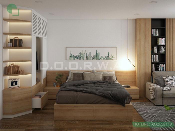 (3)Thiết kế nội thất chung cư 45 m2 đẹp hiện đại