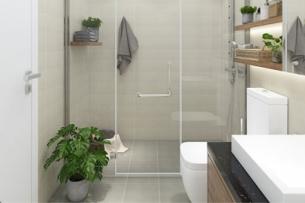 Mẫu thiết kế nhà vệ sinh nhỏ đẹp kết hợp phòng tắm by Kiến trúc Doorway ảnh tiêu biểu