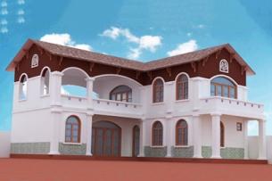 Bản thiết kế biệt thự 2 tầng 150m2 đơn giản hiện đại - Mr Bảo by kiến trúc Doorway ảnh tiêu biểu