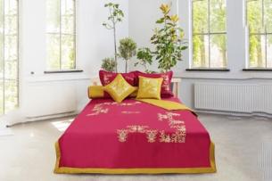 Mẫu trang trí phòng ngủ đón Tết Kỷ Hợi với sắc đỏ ngập tràn by kiến trúc Doorway ảnh tiêu biểu