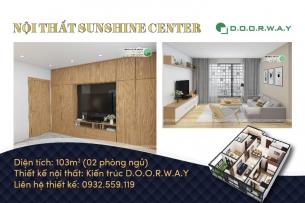 Ảnh tiêu biểu- [Xem ngay] Thiết kế nội thất căn 103m2 Sunshine Center đẹp cao cấp