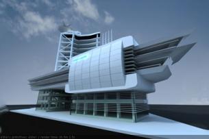 Mẫu thiết kế nhà văn phòng 7 tầng đẹp, hiện đại - 4500m2 by kiến trúc Doorway ảnh tiêu biểu