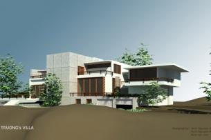 Thiết kế biệt thự 500m2 đẹp hiện đại - Biệt thự nghỉ dưỡng tại Huế by kiến trúc Doorway ảnh tiêu biểu