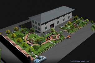 Thiết kế cảnh quan đẹp cho sân thư viện 1ha tại Hải Phòng by kiến trúc Doorway ảnh tiêu biểu