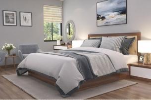Mẫu thiết kế nội thất phòng ngủ 25m2 đẹp, sang trọng by kiến trúc Doorway ảnh tiêu biểu