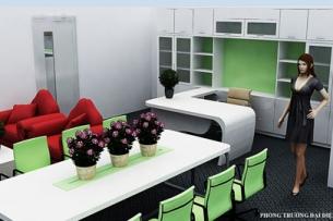 Thiết kế nội thất văn phòng đa chức năng Actionaid ảnh tiêu biểu 2