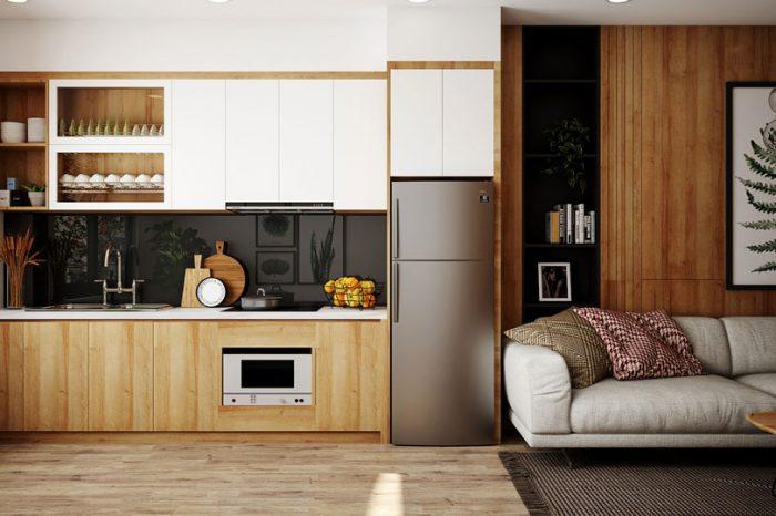 Ảnh tiêu biểu- Ấn tượng với những mẫu phòng bếp nhà ống hiện đại đẹp nhất 2019