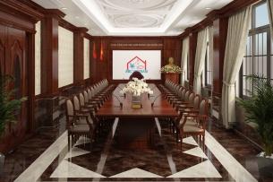 Ảnh tiêu biểu- Gợi ý mẫu thiết kế phòng họp sang trọng đẹp năm 2020