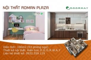 Ảnh tiêu biểu - Mẫu nội thất căn 100m2 Roman Plaza (3PN đẹp)