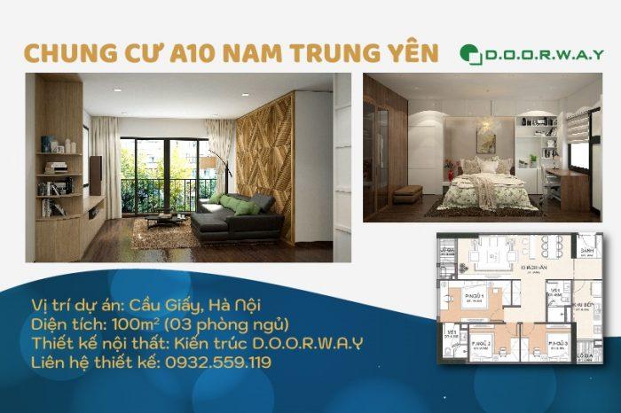 Ảnh tiêu biểu- Không gian nội thất căn 100m2 A10 Nam Trung Yên đẹp hiện đại