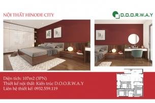Ảnh tiêu biểu - Khám phá nội thất căn 107m2 Hinode City đẹp hiện đại