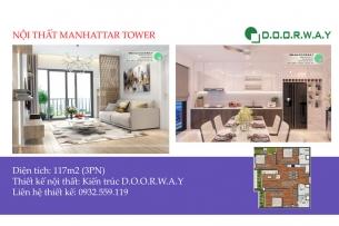 Ảnh tiêu biểu - Gợi ý nội thất căn 117m2 Manhattan Tower | 2020