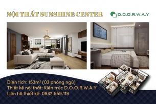 Ảnh tiêu biểu- Mẫu thiết kế nội thất căn 153m2 Sunshine Center - Doorway