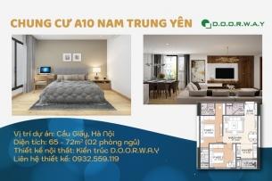 Ảnh tiêu biểu- Vẻ đẹp của thiết kế nội thất căn 2 phòng ngủ A10 Nam Trung Yên