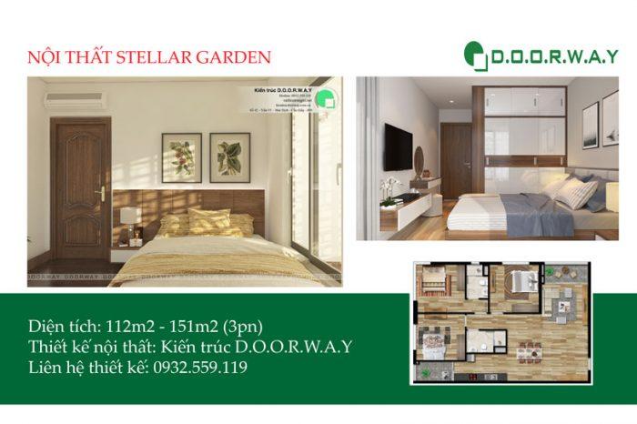 Ảnh tiêu biểu- Khám phá ngay mẫu nội thất căn 3 phòng ngủ Stellar Garden
