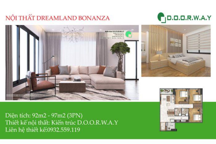 Ảnh tiêu biểu- Gợi ý mẫu nội thất căn 3 phòng ngủ Dreamland Bonanza