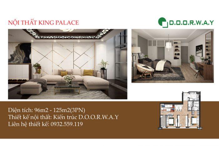 Ảnh tiêu biểu- Khám phá nội thất căn 3 phòng ngủ King Palace | Doorway