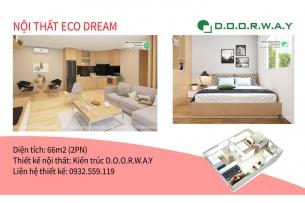 Ảnh tiêu biểu- Thiết kế nội thất căn 66m2 Eco Dream đẹp nhất hiện nay