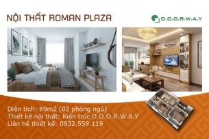 Ảnh tiêu biểu- Gợi ý mẫu nội thất căn 69m2 Roman Plaza cho gia đình trẻ