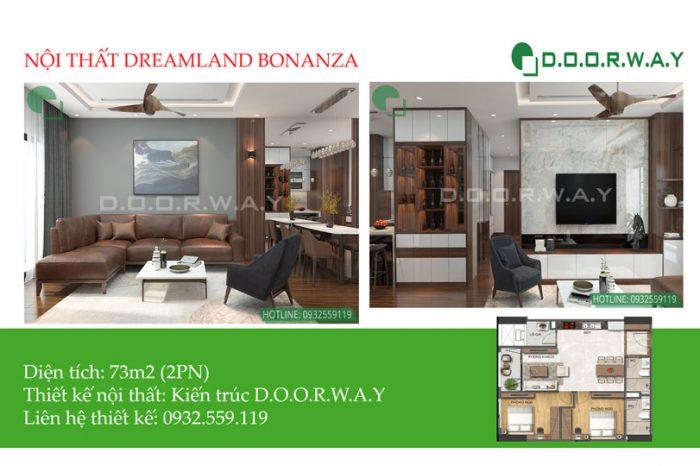 Ảnh tiêu biểu- Khám phá thiết kế nội thất căn 73m2 Dreamland Bonanza