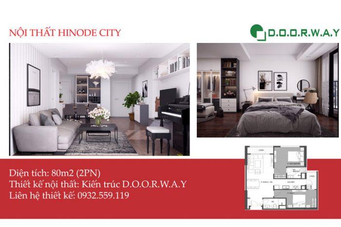 Ảnh tiêu biểu- Khác biệt với mẫu nội thất căn 80m2 Hinode City