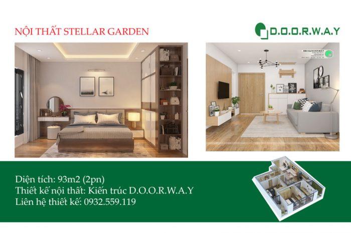 Ảnh tiêu biểu- Chiêm ngưỡng thiết kế nội thất căn 93m2 Stellar Garden