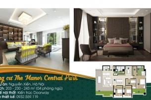 Thiết kế nội thất căn hộ 4 phòng ngủ The Manor Central Park by kiến trúc Doorway, ảnh tiêu biểu