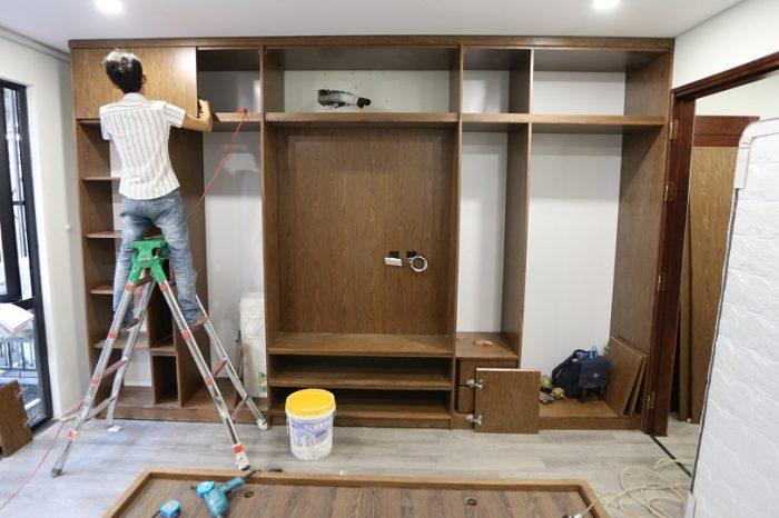 Anhtieubieu- Thi công nội thất gỗ công nghiệp: giải pháp tối ưu tiện ích sống