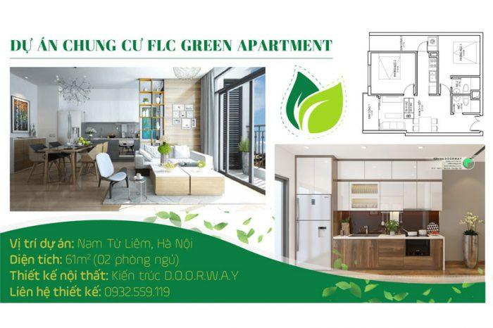 Ảnh tiêu biểu- [2019] Xem mẫu thiết kế căn hộ 61m2 FLC Green Apartment - Nội thất đẹp