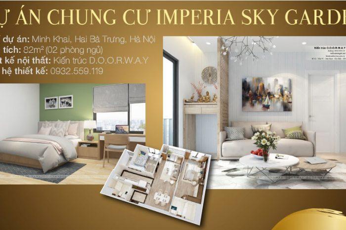 Ảnh tiêu biểu- Ngắm thiết kế căn hộ 82m2 Imperia Sky Garden - 2PN